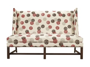 Thumbnail of Hickory Chair - Farm Wing Armless Loveseat