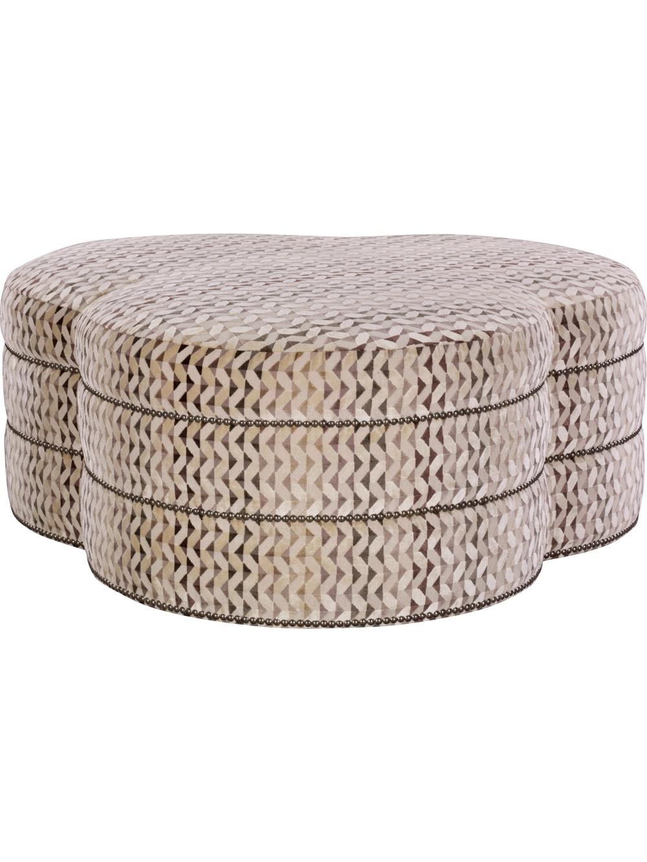 Hickory Chair - Cloverleaf Ottoman