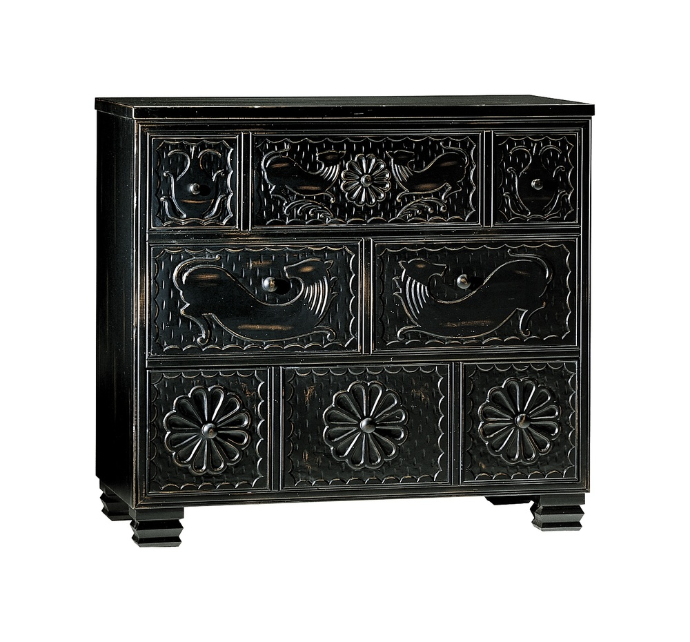 Hickory Chair - Carved Chest