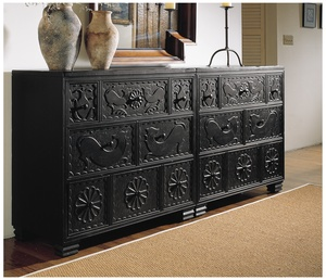 Thumbnail of Hickory Chair - Carved Chest