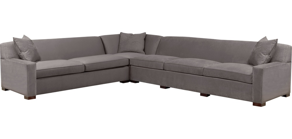 Hickory Chair - Silhouettes Wide Square Arm Sectional