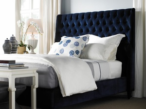 Thumbnail of Hickory Chair - Hattie Tufted Twin Bed