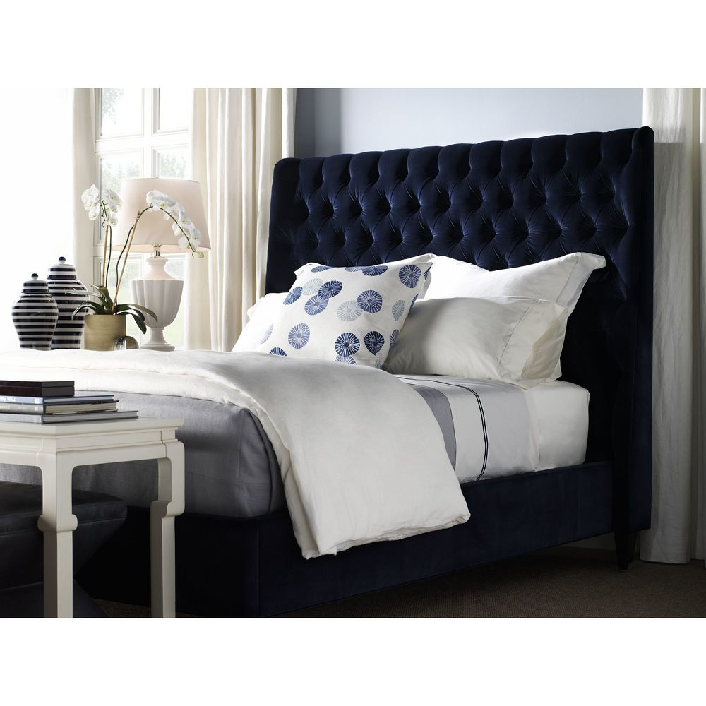 Hickory Chair - Hattie Tufted King Bed