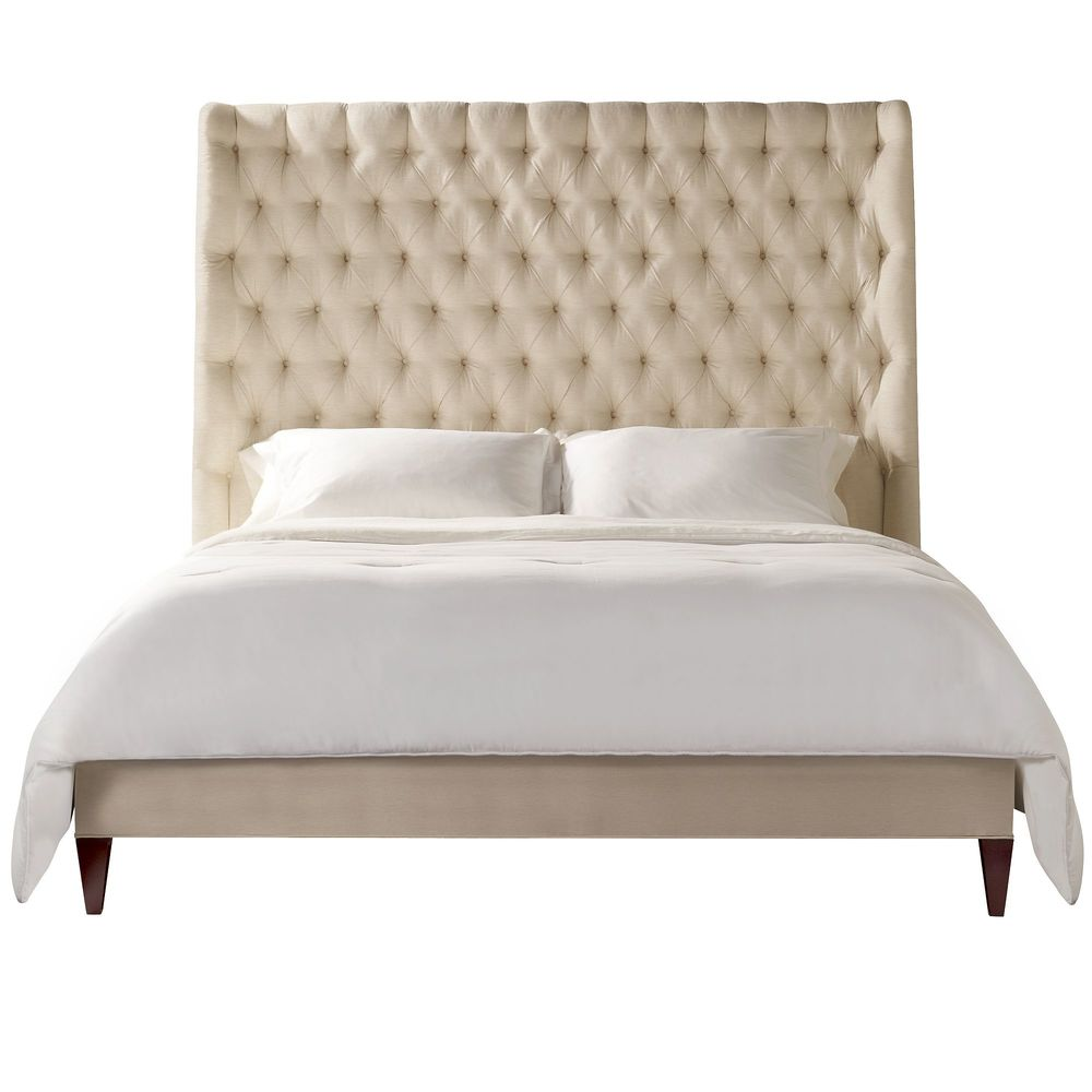 Hickory Chair - Hattie Tufted California King Bed