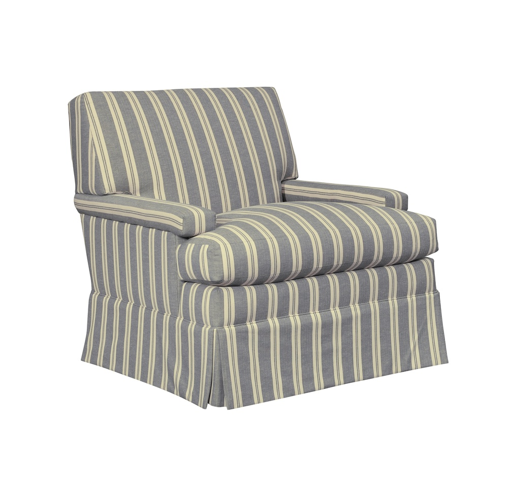 Hickory Chair - MacDonald Chair with Skirt