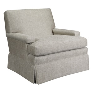 Thumbnail of Hickory Chair - MacDonald Swivel Chair with Skirt