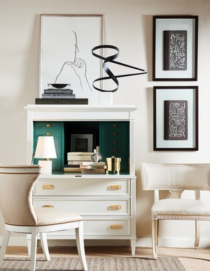 Thumbnail of Hickory Chair - Regan Klismos Chair