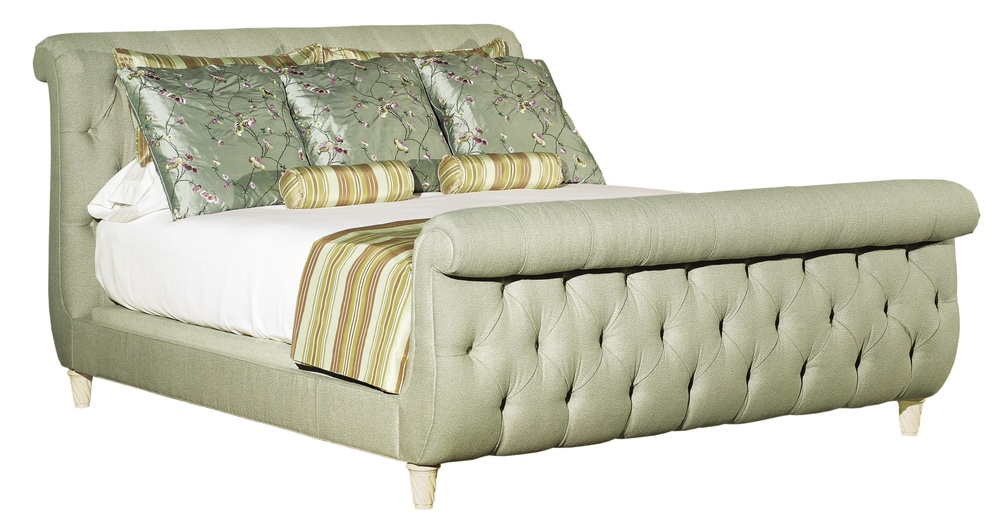 Hickory Chair - Somerset King Bed with Footboard
