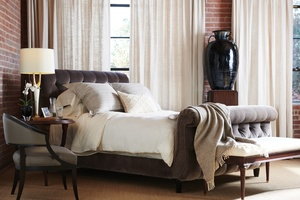 Thumbnail of Hickory Chair - Somerset King Bed with Footboard