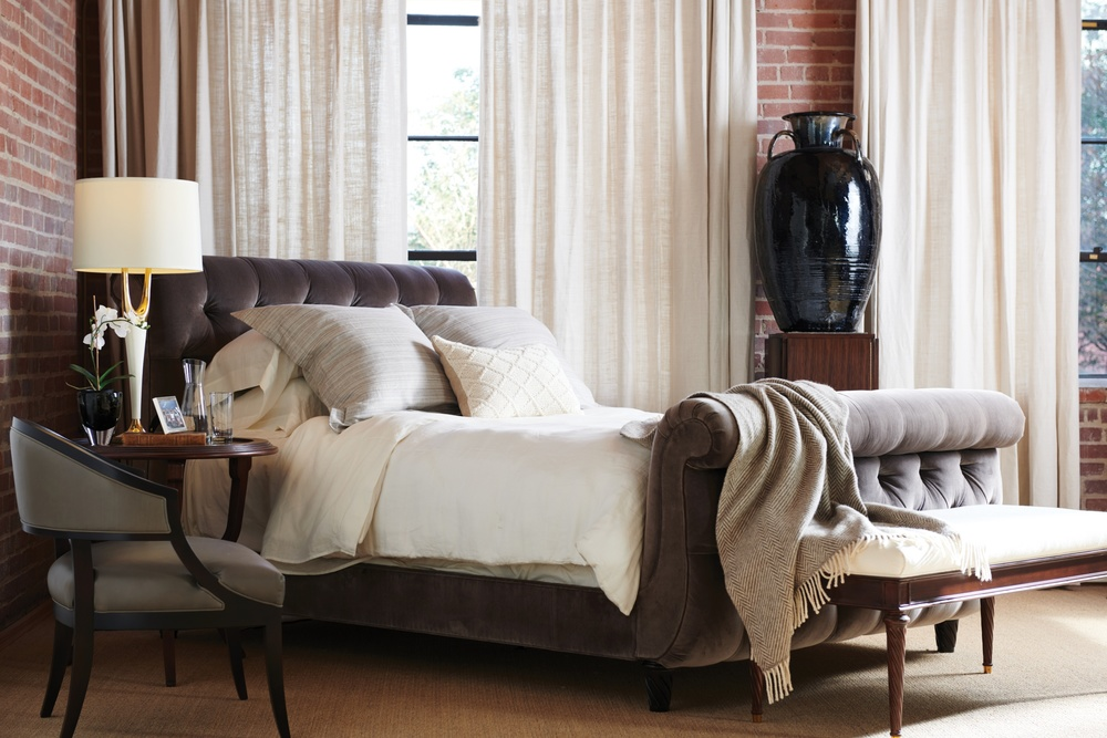 Hickory Chair - Somerset California King Bed with Footboard