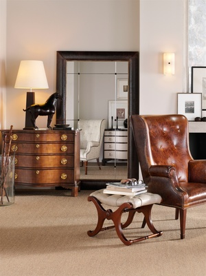 Thumbnail of Hickory Chair - Figured Maple Serpentine Chest