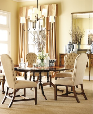 Thumbnail of Hickory Chair - Marlboro Tufted Chair