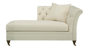 Thumbnail of Hickory Chair - Marquette Tufted Left Arm Facing Chaise