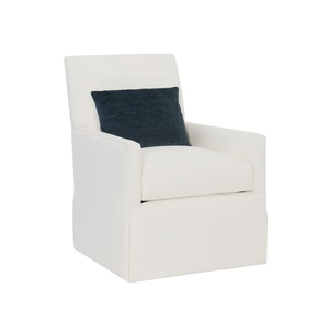 Thumbnail of Hickory Chair - Box Back Bergere Skirted Chair