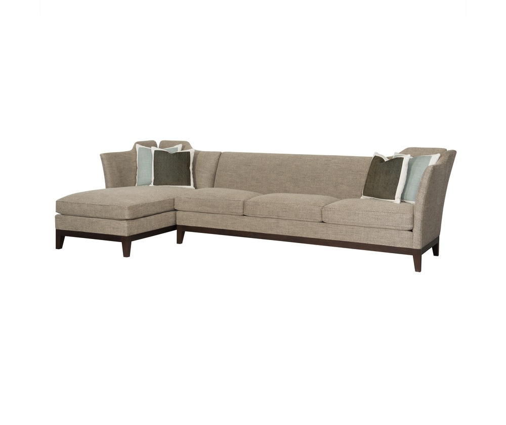 Hickory Chair - Knole Sectional with Chaise