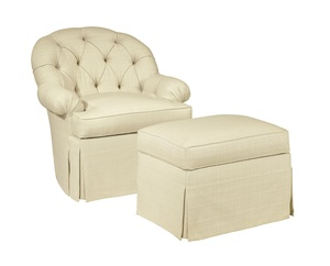 Thumbnail of Hickory Chair - Holly Tufted Swivel Chair