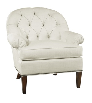 Thumbnail of Hickory Chair - Holly Tufted Exposed Leg Chair