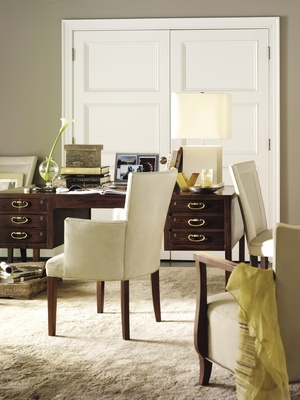 Thumbnail of Hickory Chair - Flared Back Dining Arm Chair