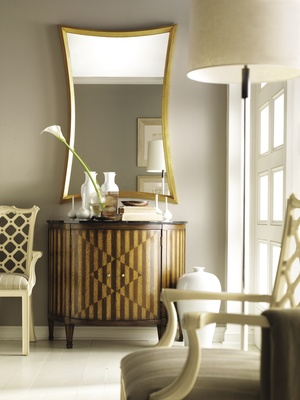 Thumbnail of Hickory Chair - Continental Demi Lune Cabinet