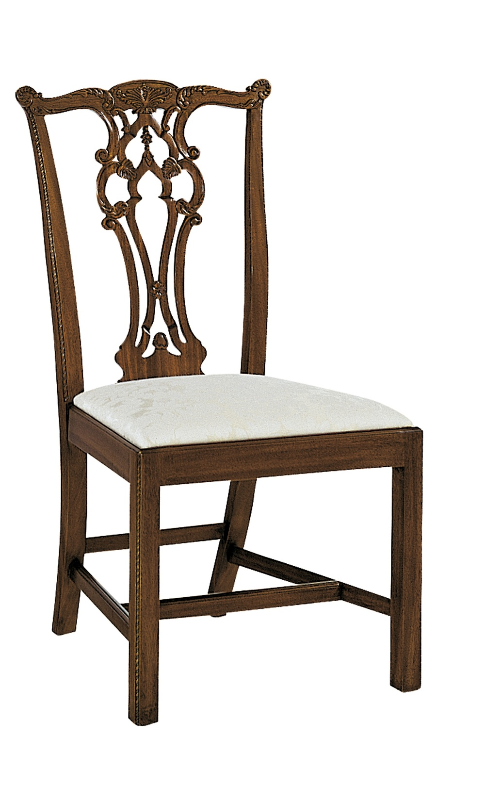 Hickory Chair - Rhode Island Chippendale Side Chair