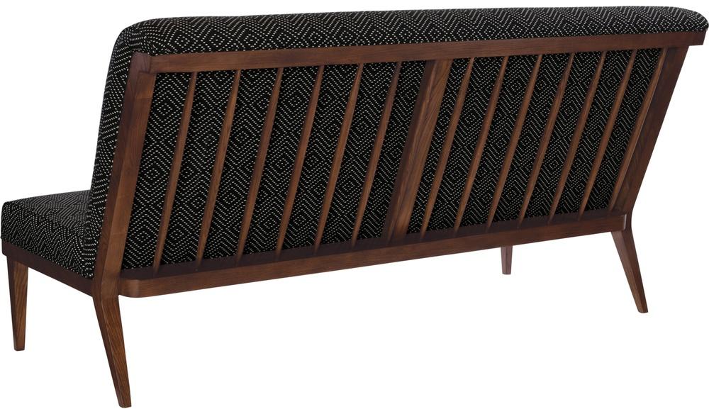 Hickory Chair - Bergen Armless Sofa