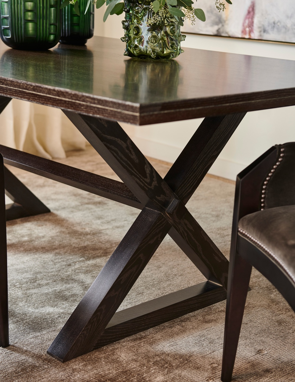 Hickory Chair - Freya Dining Table with Suit Base