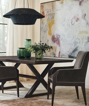 Thumbnail of Hickory Chair - Freya Dining Table with Suit Base