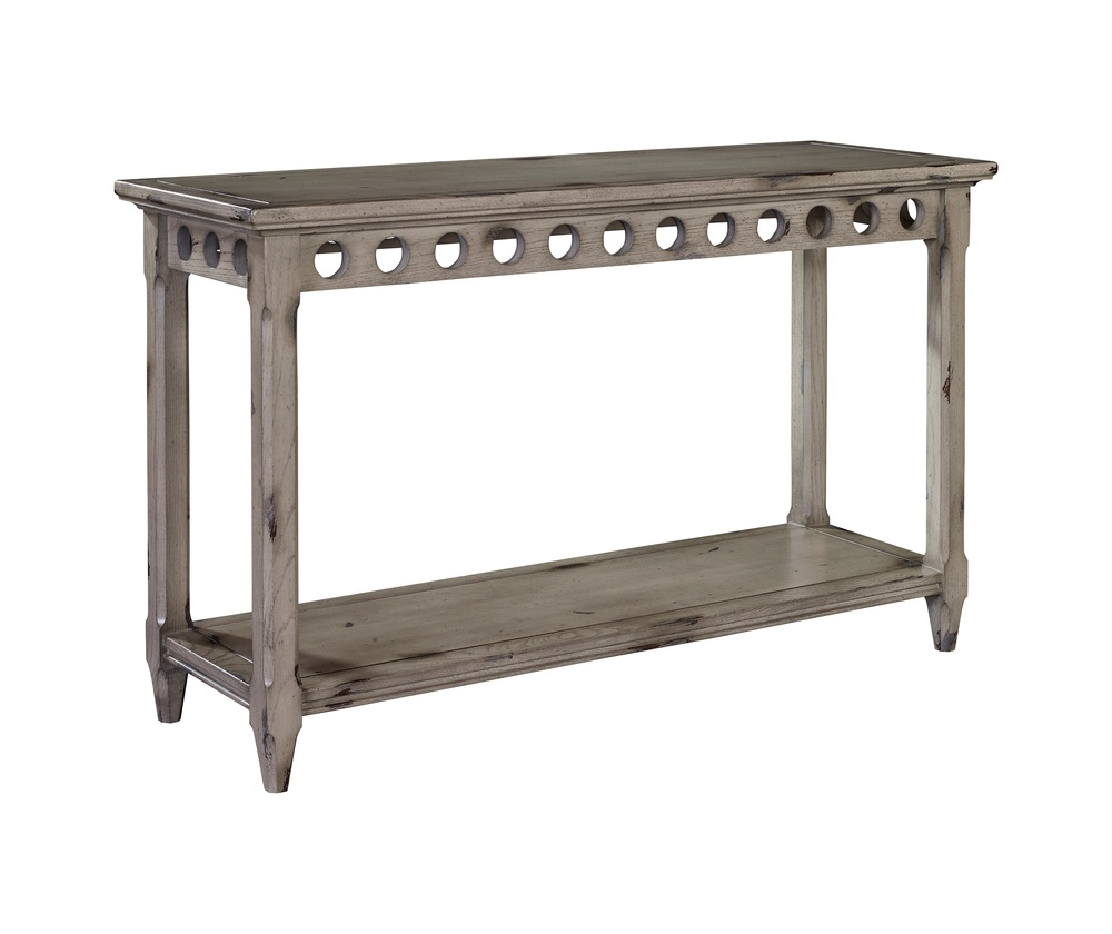 Hickory Chair - Circles Console Table