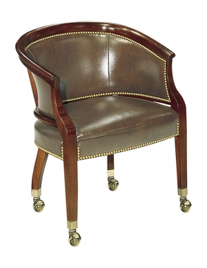 Thumbnail of Hickory Chair - Tub Chair with Casters