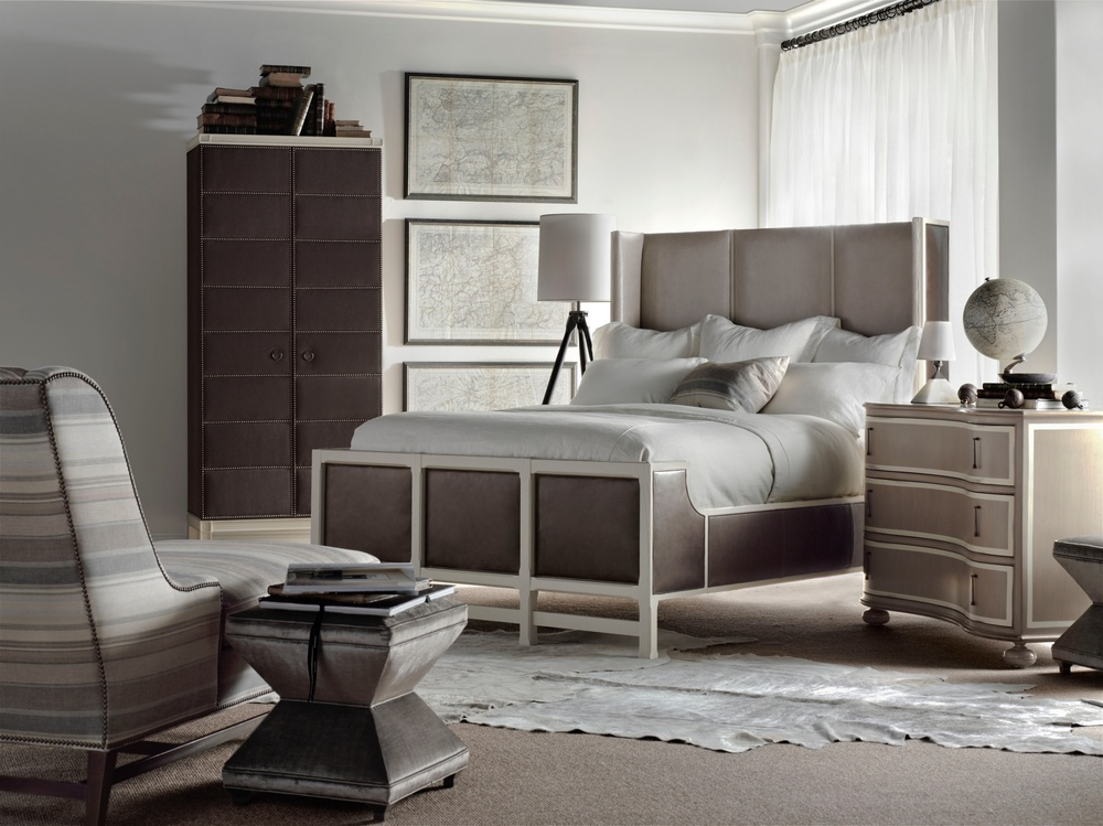 Hickory Chair - Muse King Bed