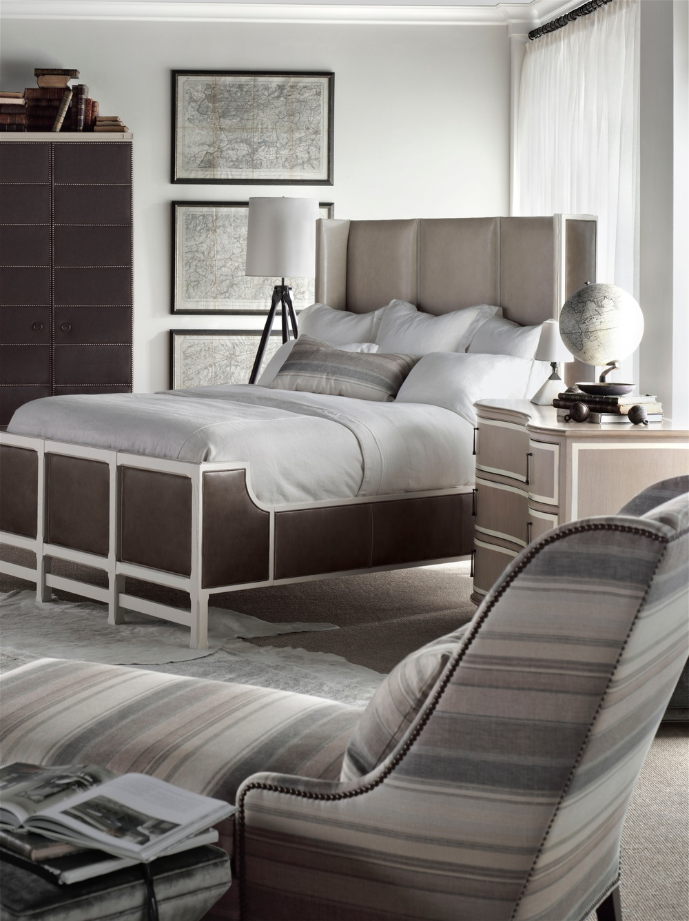 Hickory Chair - Muse California King Bed