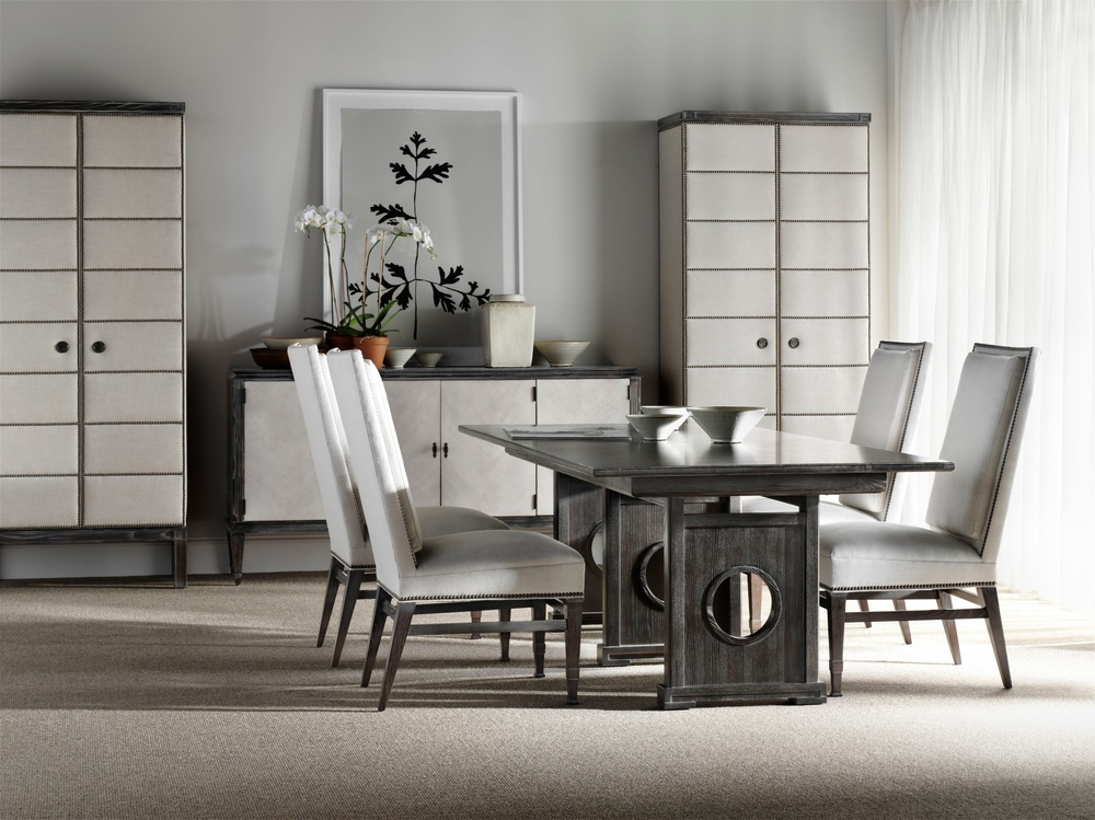 Hickory Chair - Muse Tall Upholstered Cabinet