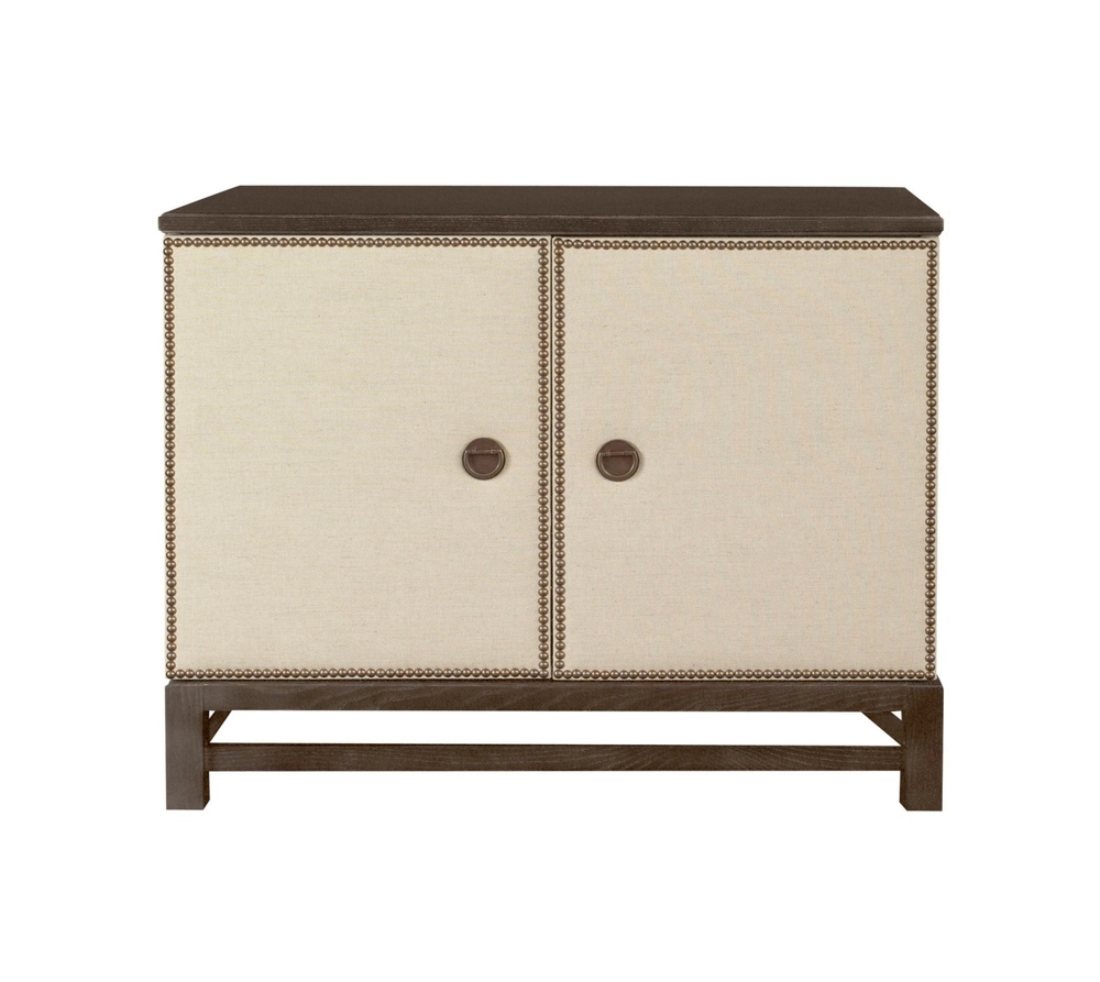 Hickory Chair - Remy Two Door Upholstered Cabinet
