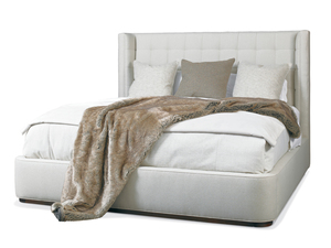 Thumbnail of Hickory White - Dana King Upholstered Bed
