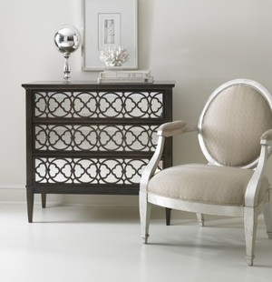 Thumbnail of Hickory White - Tracery Chest