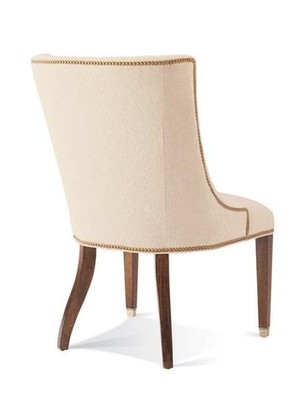 Thumbnail of Hickory White - Upholstered Side Chair