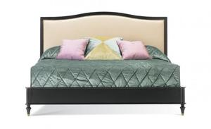 Thumbnail of Hickory White - Queen Upholstered Panel Bed