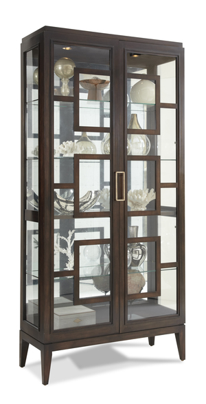 Thumbnail of Hickory White - Rhodes Curio Cabinet