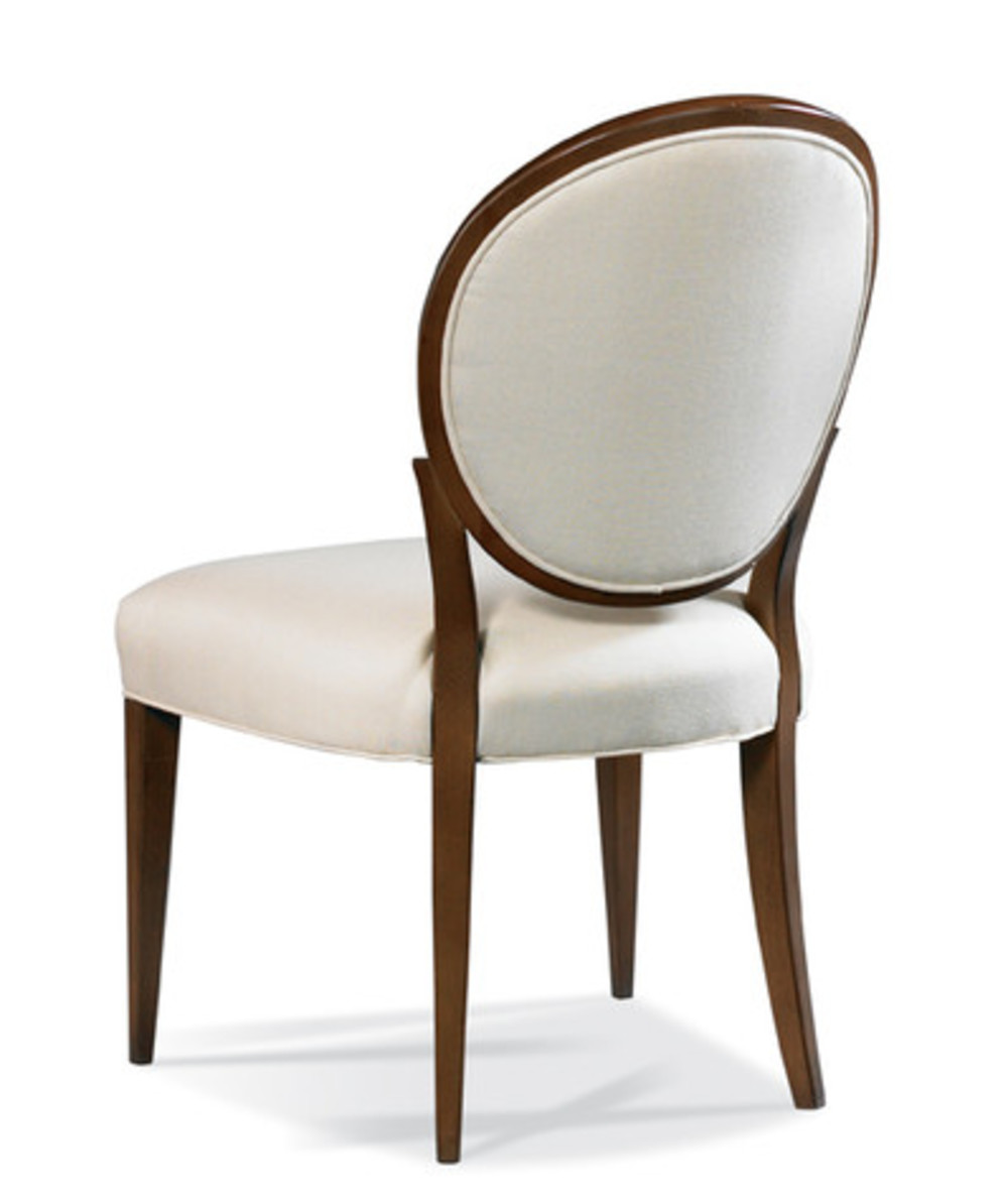 Hickory White - Oval Back Side Chair
