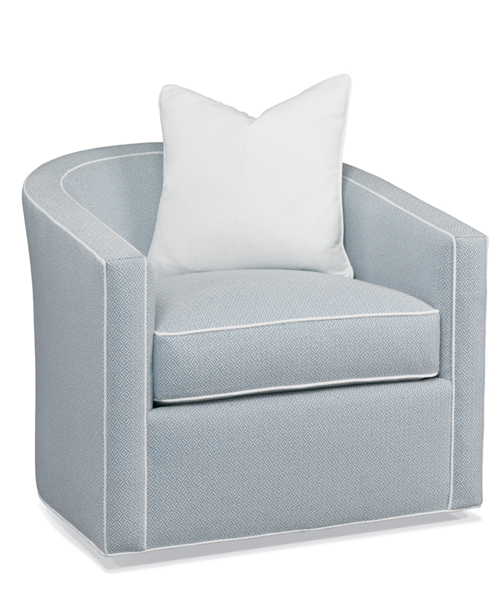 Hickory White - Swivel Chair
