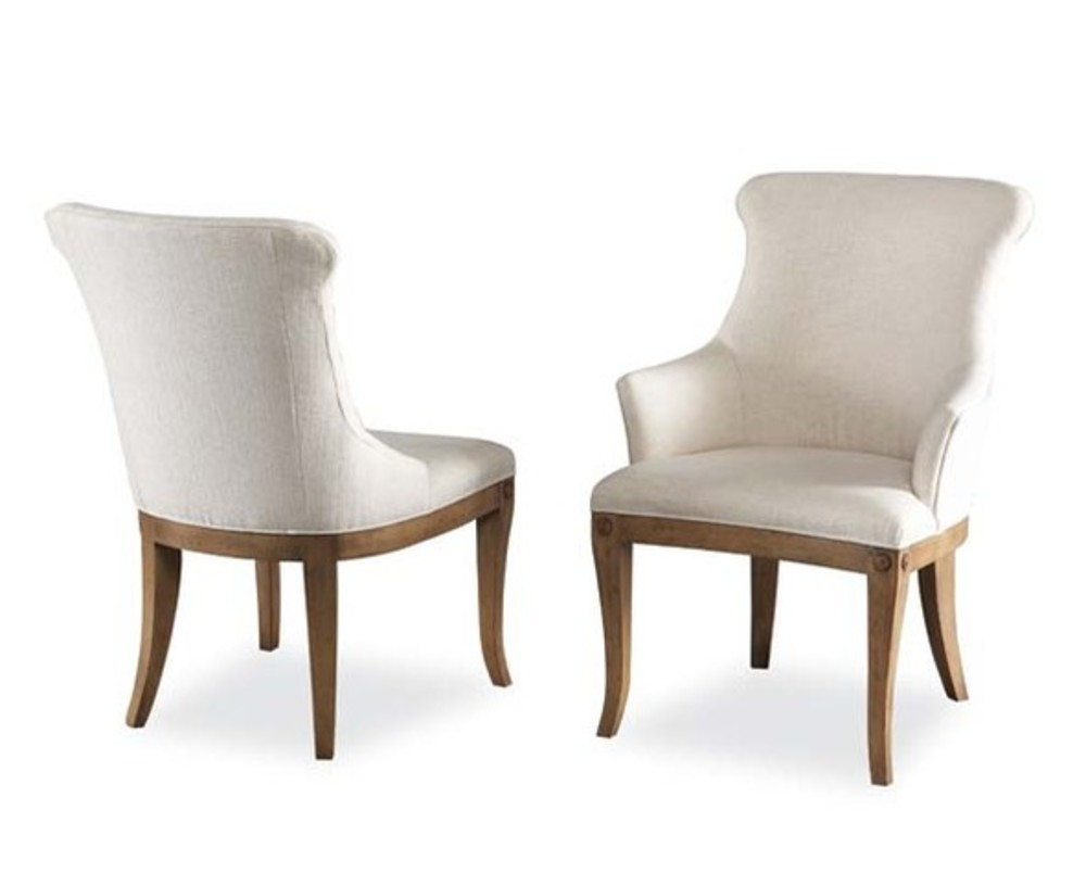 Hickory White - Upholstered Arm Chair