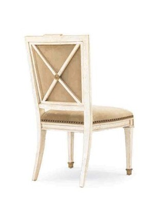 Thumbnail of Hickory White - X-Back Side Chair