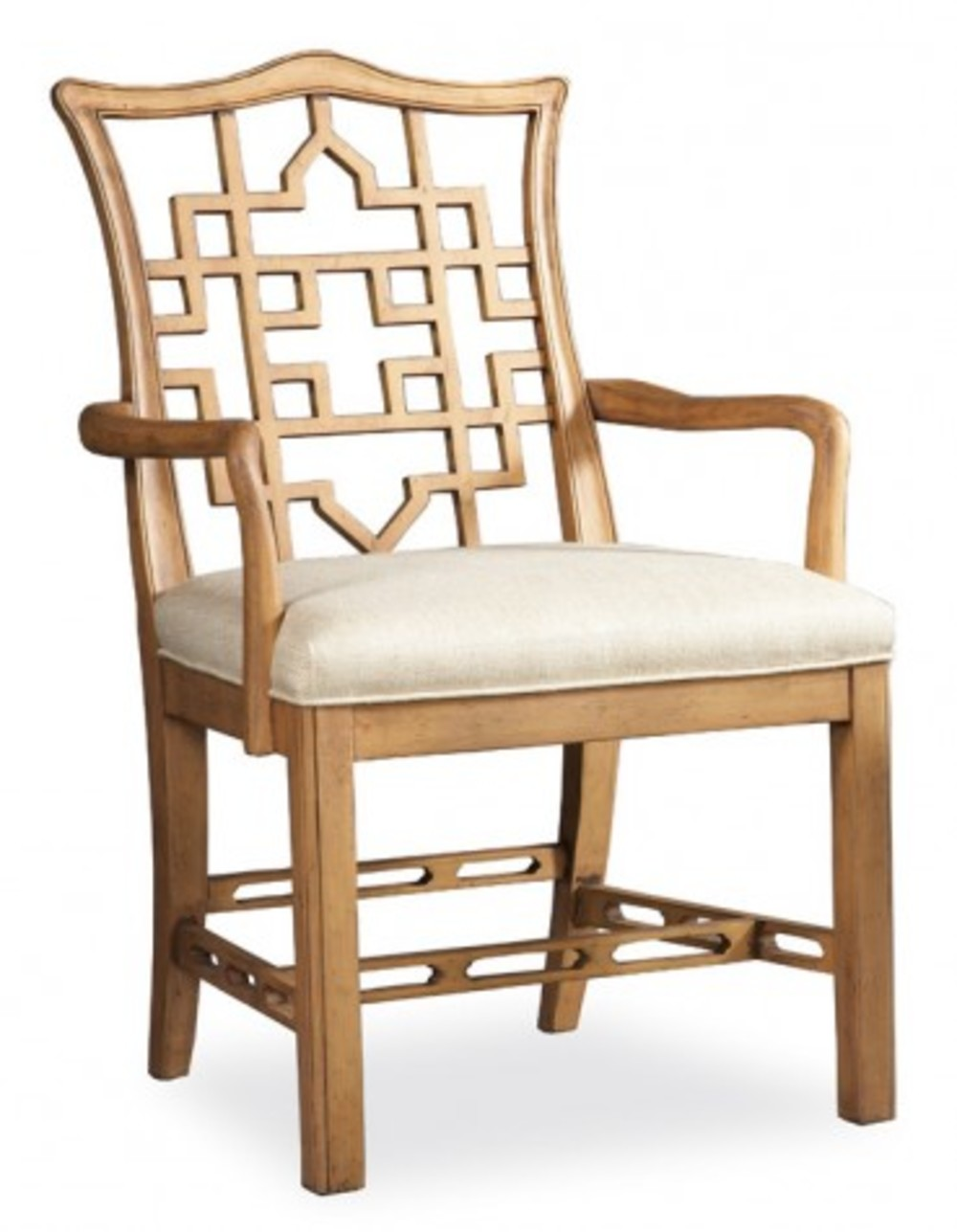 Hickory White - Causal Arm Chair
