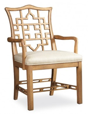 Thumbnail of Hickory White - Causal Arm Chair