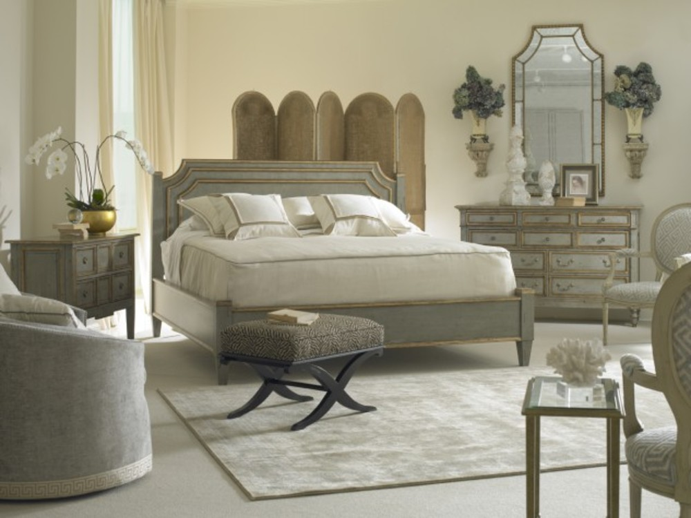 Hickory White - King Bed