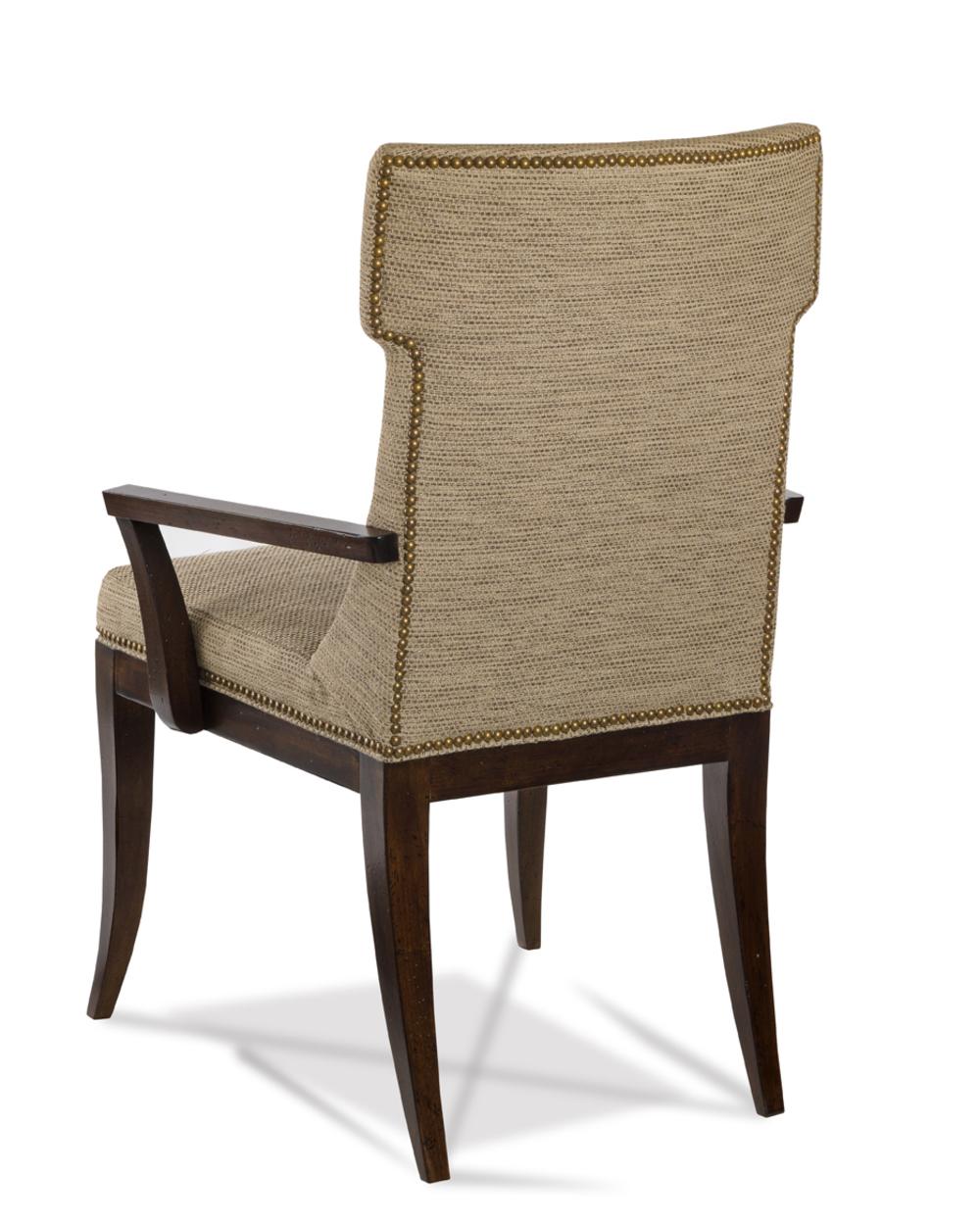 Hickory White - Kistler Klismos Arm Chair