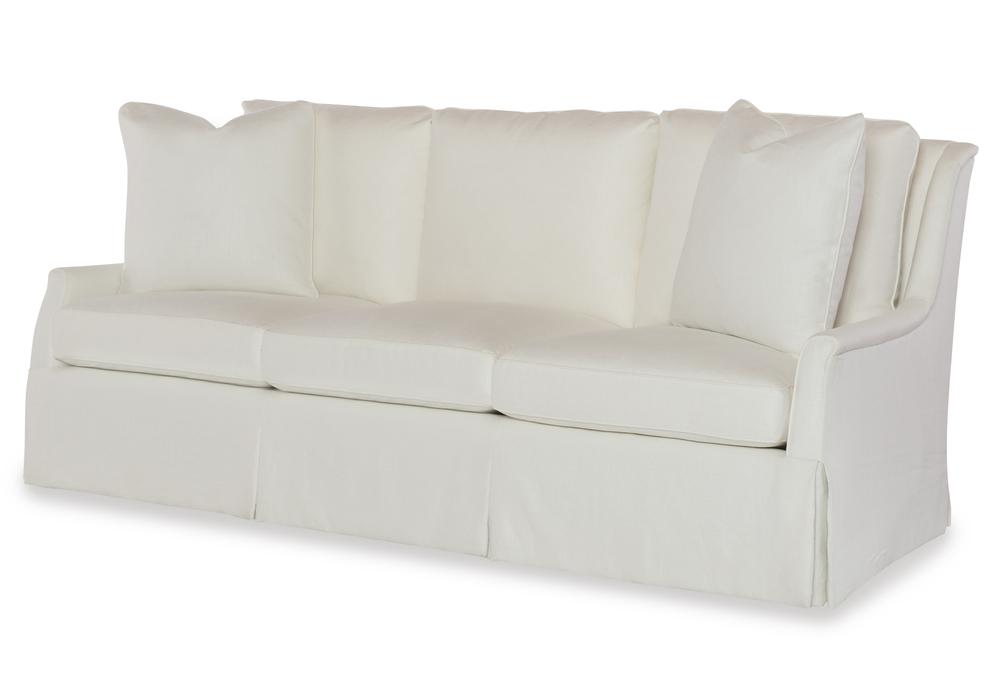 Highland House - Walker Skirted Sofa