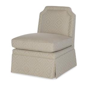 Thumbnail of Highland House - Luc Skirted Swivel Chair