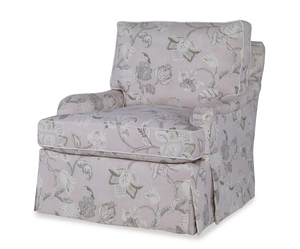 Thumbnail of Highland House - Sills Skirted Swivel Chair