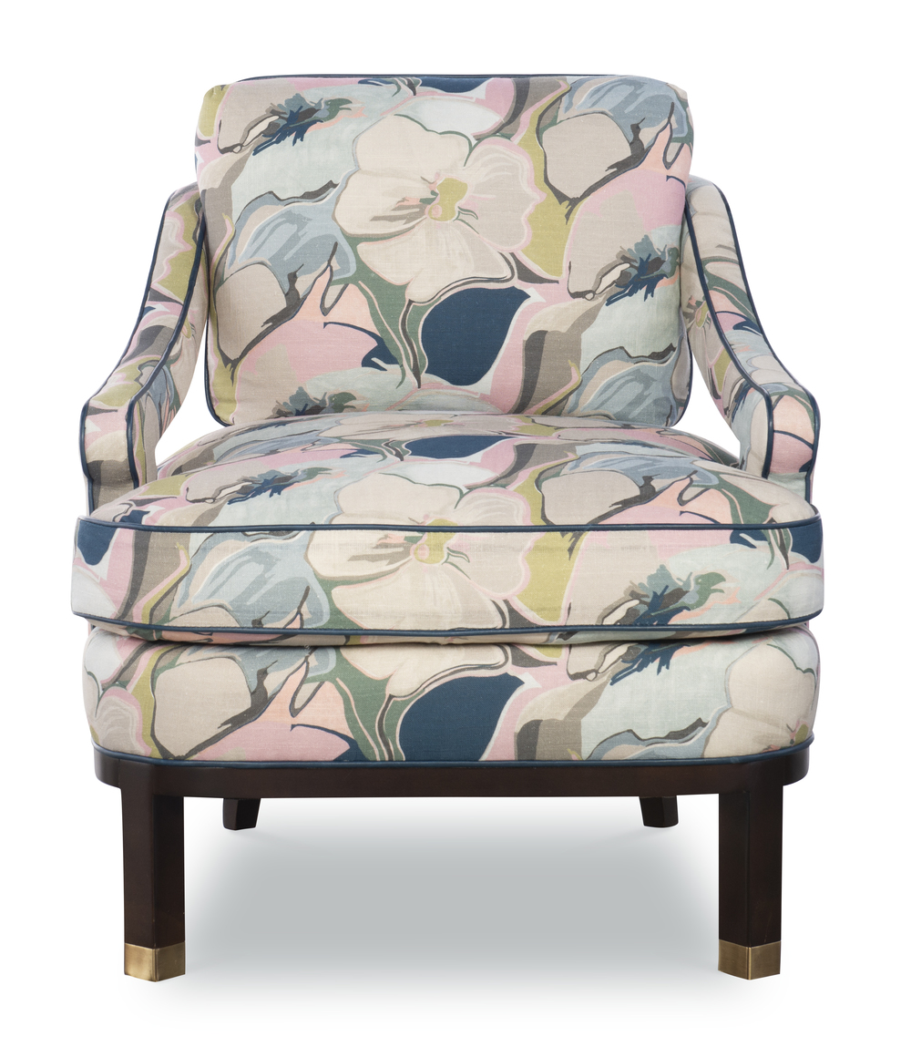 Highland House - Atchison Slipper Chair
